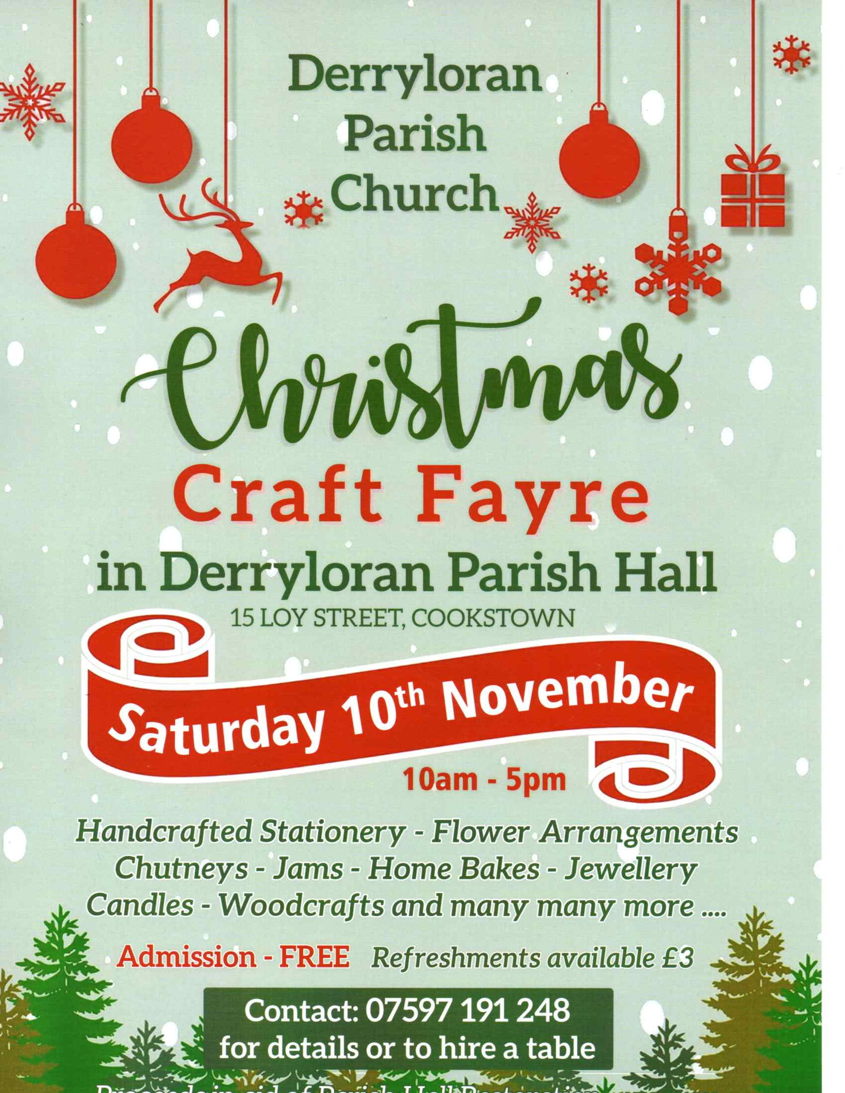 Christmas Craft Fayre Flyer